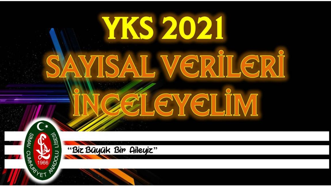 YKS 2021 SAYISAL VERİLERİ İNCELEYELİM
